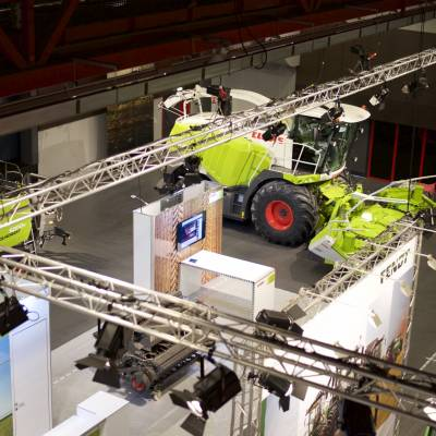 Salons Machines agricoles CLAAS